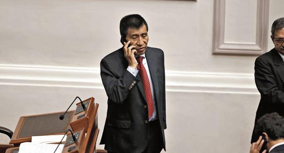 Congresista Moisés Mamani es investigado por lavado de activos. (Foto: Renzo Salazar/GEC)