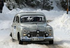 Tras 65 años de ausencia: el SEAT 1400 vuelve al Rally Monte-Carlo   FOTOS