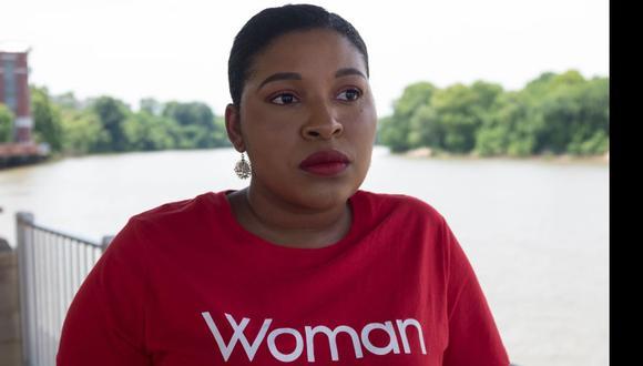 """De no haber podido abortar """"me habría matado"""", dice Samantha Blakely, una sobreviviente de violación en Alabama. (AFP)."""