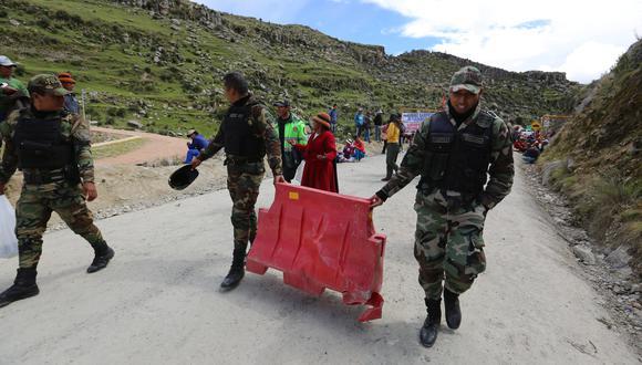 La SNMPE exhortó a los pobladores de las comunidades de Chumbivilcas que están realizando estos bloqueos a dejar de lado actitudes intransigentes. (Foto: GEC)