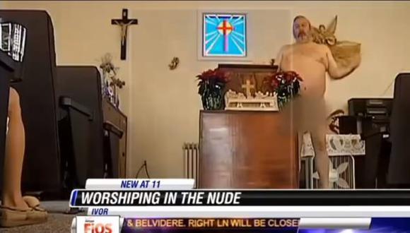 EE.UU.: Iglesia nudista causa polémica entre conservadores