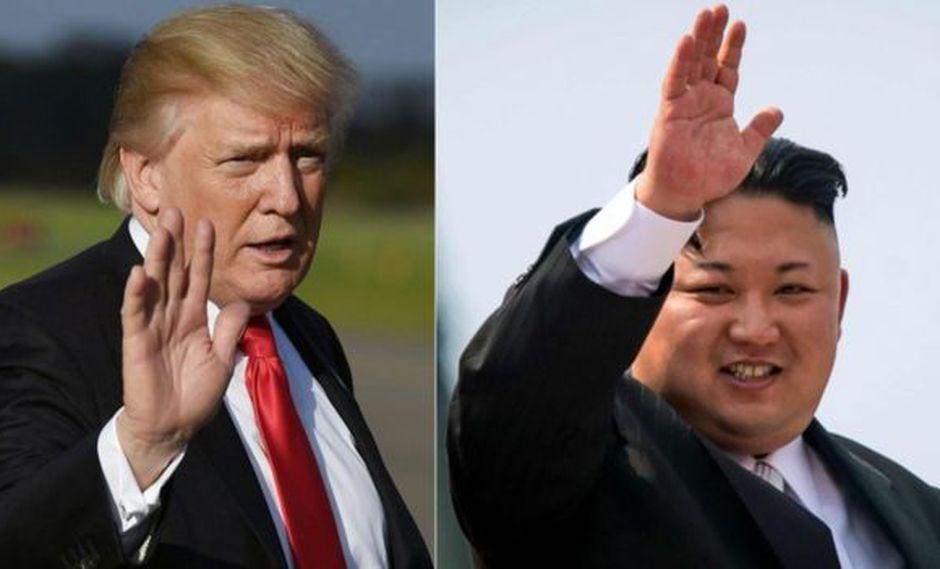 Trump y Kim Jong-un se enzarzaron este año en una batalla dialéctica. (Foto: AFP)