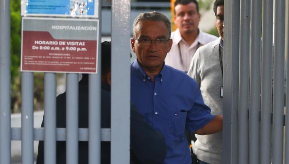 """Aguinaga dijo que él no le ha """"robado ninguna vacuna a nadie"""". Agregó que él fue parte del equipo de investigación en calidad de consultor. (Foto: El Comercio)"""