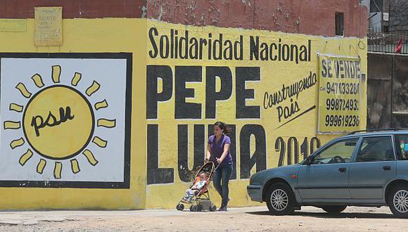 Abren proceso sancionador a Solidaridad por pintas de José Luna