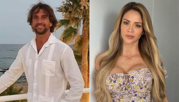 Antonio Pavón habló de su acuerdo con Sheyla Rojas en el programa de Magaly Medina. (Foto: @antoniopavongalan/@_sheylaoficial)