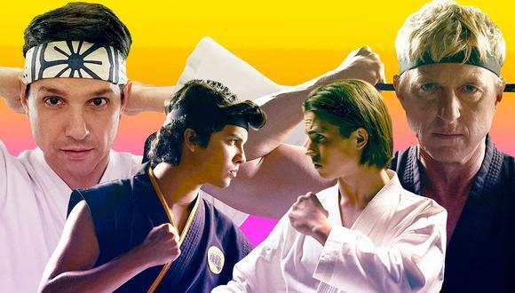 Cobra Kai está basada en la franquicia de Karate Kid. La serie fue escrita por Jon Hurwitz, Hayden Schlossberg y Josh Heald, y está protagonizada por Ralph Macchio y William Zabka. (Foto: Netflix)