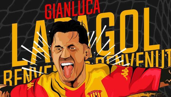 Gianluca Lapadula jugará en el Benevento de la Serie A. (Foto: @bncalcio)
