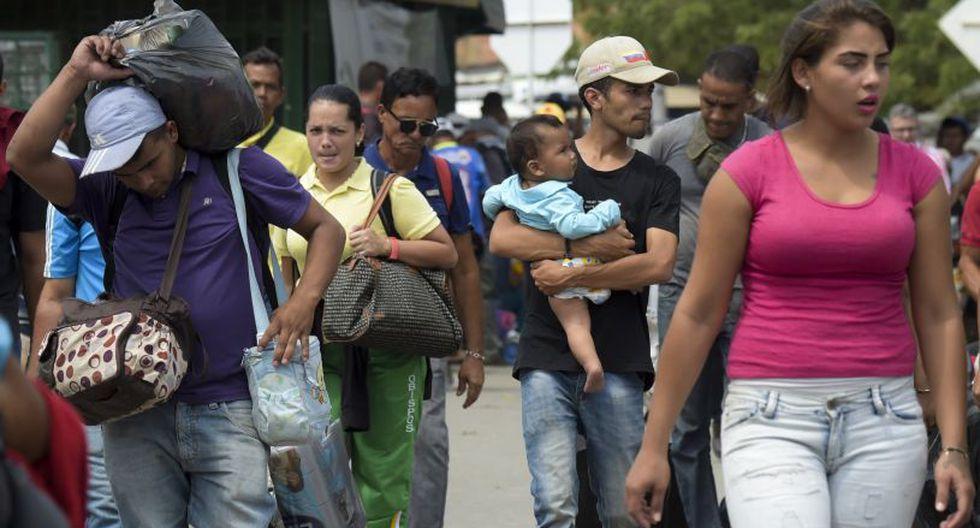 """""""Nos acabó el país y no tenemos comida ni medicina, una grosería de ese señor"""", manifiesta.(Foto: AFP)"""