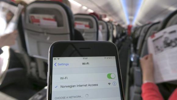 Advierten que Wi Fi en aviones no son seguros ante ciberataques