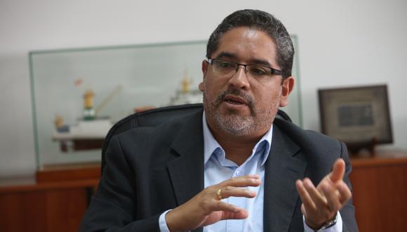 Juan Carlos Requejo, viceministro de Trabajo. (Foto: GEC)