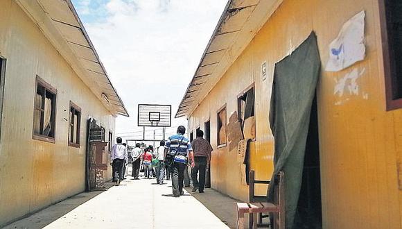 Dos colegios dañados desde el 2007 aún no son reconstruidos