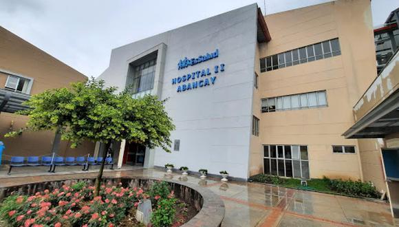 La nueva plata de oxígeno en el Hospital II de Abancay estará lista en menos de un mes | Foto: Essalud