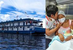 Loreto: nació la primera bebé a bordo de la Plataforma Itinerante de Acción Social (PIAS) Río Yavarí | FOTOS