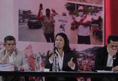 Fuerza Popular: JEE aceptó recursos de nulidad fuera de plazo contra actas de mesas de sufragio, pero las declaró infundadas