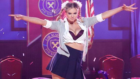Kate Upton sorprende con imitación de Britney Spears [VIDEO]