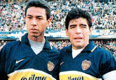 """Solano: """"Maradona me defendía en la cancha como si me conociera 20 años"""""""