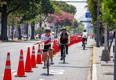 Cercado de Lima: este martes se habilitará el carril para ciclistas en corredor Tacna-Garcilaso