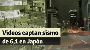 Así se vivió el sismo de 6,1 grados en Tokio
