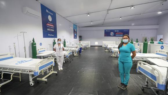 Coronavirus en Perú: inauguran hospitales temporales en Moquegua (Foto: Cortesía Oficina de Prensa del Ministerio de Defensa)