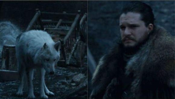 """Director del último capítulo de """"Game of Thrones"""" defendió la despedida entre Jon Snow y Ghost. (Foto: HBO)"""