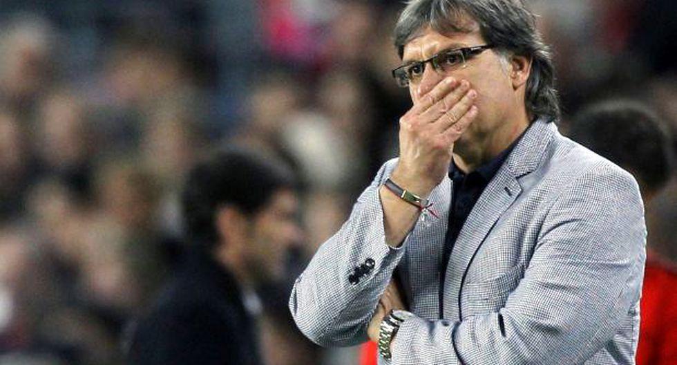 "Gerardo Martino asume errores: ""Tuvimos una semana mala"""