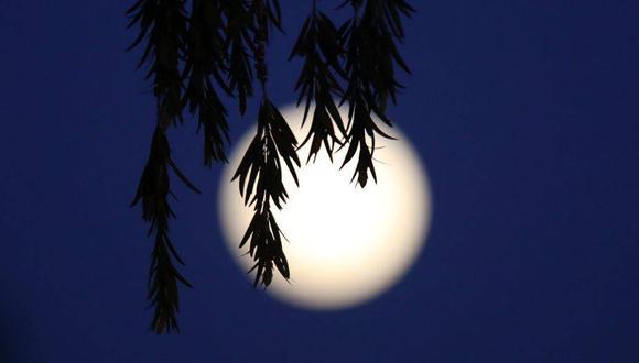 'Superluna de nieve', es la primera superluna del año, y podrá ser vista la madrugada del domingo | EFE