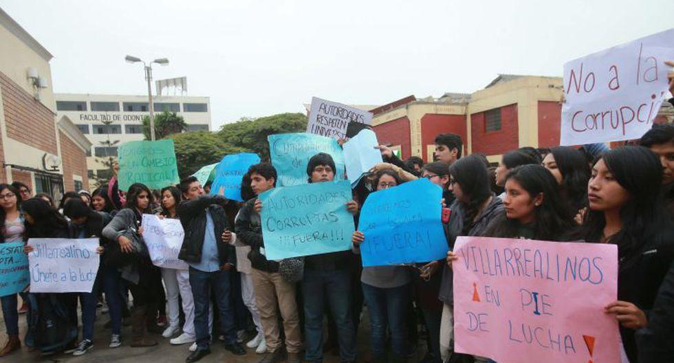 UNFV: estudiantes toman facultades en rechazo a sus autoridades - 4