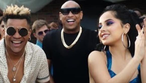 """Becky G y Gente de Zona estrenaron el videoclip de """"Muchacha"""". (Foto: Captura de video)"""