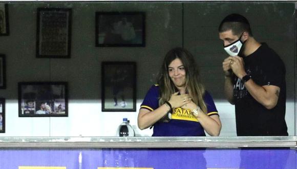 Dalma Maradona defendió a su hermana de abogado de su padre (Foto: EFE)