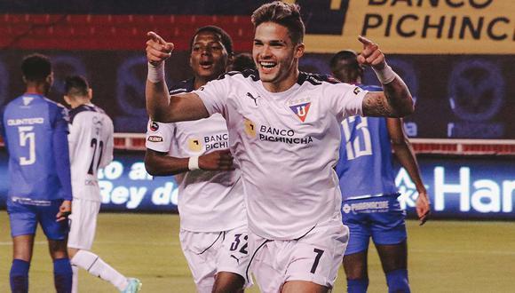 LDU de Quito goleó 4-0 a Olmedo por la Liga Pro de Ecuador | Foto: @LDU_Oficial
