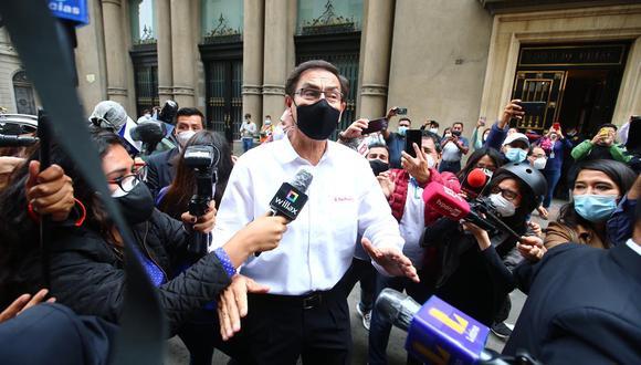 Martín Vizcarra es investigado por tres delitos por el fiscal Germán Juárez (Foto: Hugo Curotto /@photo.gec )