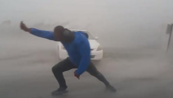 Los vientos del huracán Irma pueden llegar a superar los 200 kilómetros por hora. (Foto: captura de YouTube)