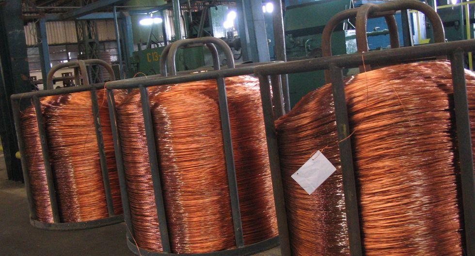 Los inventarios de cobre en los almacenes registrados ante la LME se redujeron a 135.800 toneladas. (Foto: JULIO ESCALANTE/EL COMERCIO)