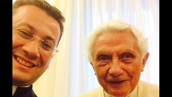 Benedicto XVI. (@GianlucaBarile1 en Twitter)