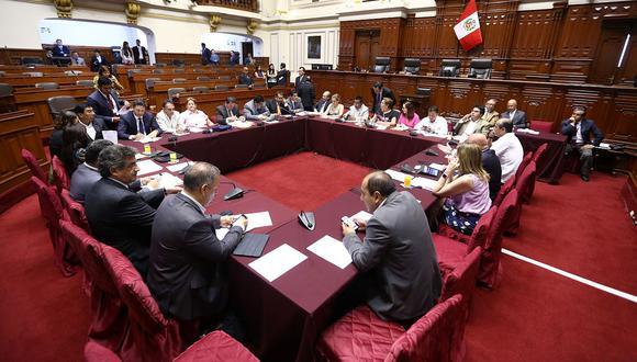La Comisión Permanente procedió a debatir la decisión que tomó la Subcomisión de Acusaciones Constitucionales sobre Pedro Chávarry. (Foto: Andina)