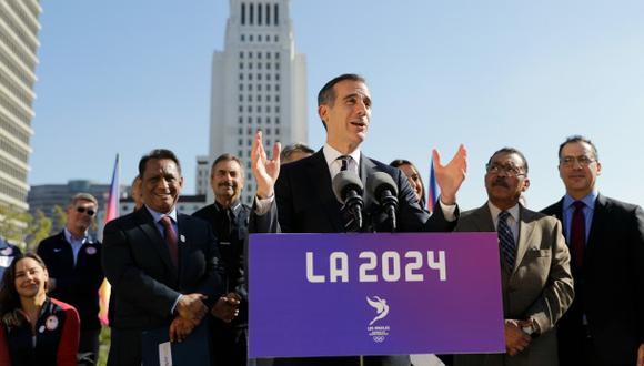 Tensión entre Los Ángeles y París de cara a los JJ.OO. de 2024