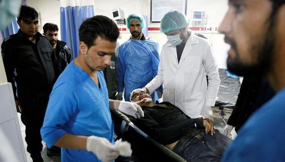 Kabul: Al menos 10 muertos y 19 heridos en ataque contra empresa británica en capital de Afganistán. (AFP).