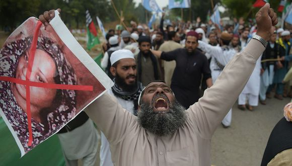 Asia Bibi: Pakistán arresta a 300 seguidores del clérigo detenido Khadim Hussain Rizvi. (AFP).
