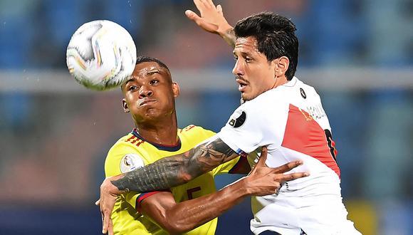 Colombia vs Perú juegan este viernes en el Mané Garrincha por el tercer lugar. El partido va desde las 19:00 horas y  se transmitirá por la señal de Caracol TV y Caracol Play. (Foto: AFP)