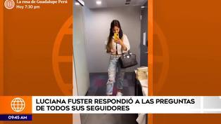 Luciana Fuster rompe su silencio y niega estar en la mansión de Marc Anthony