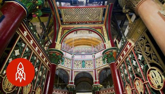 El Crossness Pumping Station fue abierto en 1865. El edificio es conocido como la Catedral del pantano. (Foto: YouTube)