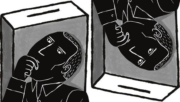 """""""En el caso de Castillo, su trayectoria y sus entornos se han hecho más conocidos y han generado justificada alarma"""". (Ilustración: Víctor Aguilar)"""