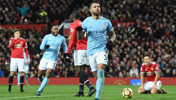 Manchester City es el equipo del momento. El cuadro de Pep Guardiola es líder en la Premier, con once puntos de ventaja sobre el segundo y clasificó, con dos fechas antes de culminar la zona de grupos, a los octavos de final de la Champions League. (Foto: AFP)