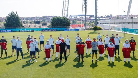 España debutará en la Eurocopa este lunes 14 de junio ante Suecia. (Foto: Selección de fútbol de España)