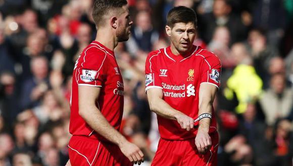 Steven Gerrard fue expulsado tras 48 segundos en el campo