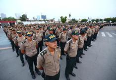 Más de 2.400 policías se sumaron al patrullaje preventivo en Lima y Callao   FOTOS
