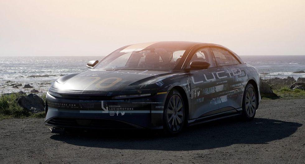 Lucid Motors afirma que su auto eléctrico contará con mejores prestaciones que el Tesla Model S. (Fotos: Lucid Air).
