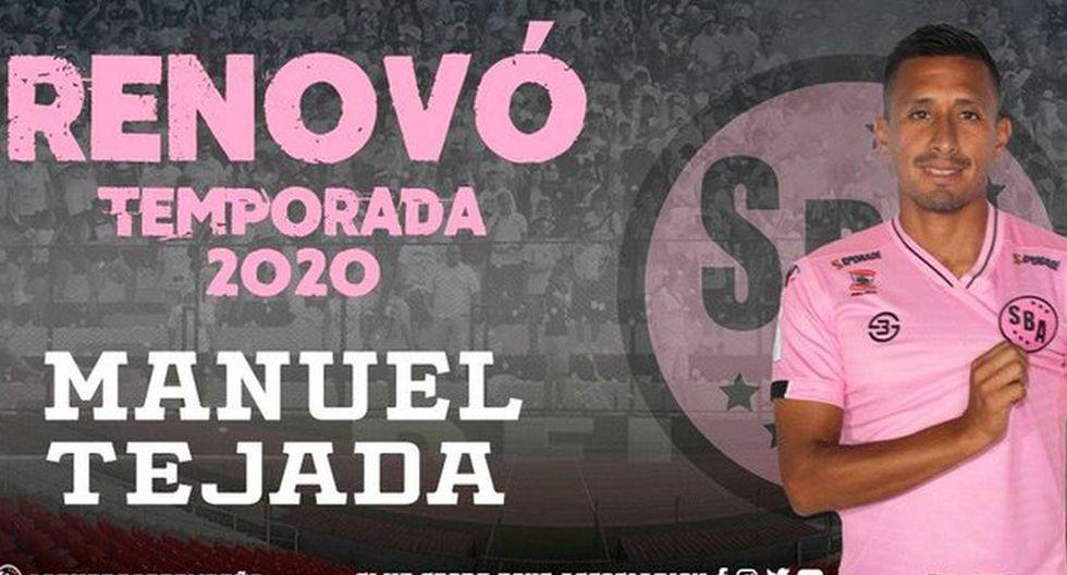 Manuel Tejada renovó con Sport Boys (Foto: Sport Boys)