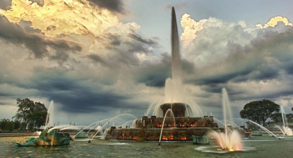 Fuente Buckingham, Chicago. (Foto: Chris Smith)