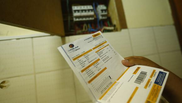 El Bono Electricidad otorga un subsidio a favor de los usuarios que permita cubrir los montos de sus recibos de luz pendientes de pago entre marzo y diciembre de este año hasta por S/ 160. (Foto: GEC)